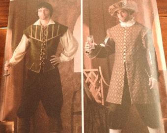 Simplicity 4059 Men's Renaissance Costume Sewing Pattern