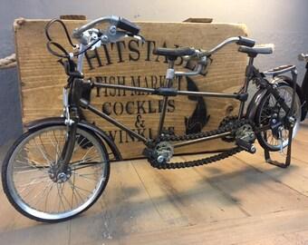 Retro Vintage Tandem Cycle Ornament
