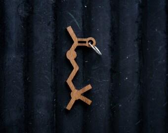 Memory Molecule (Acetylcholine) Necklace pendant
