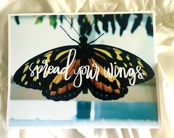 Spread Your Wings | Butterfly Photograph Print