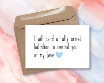 Greeting Card - You'll Be Back