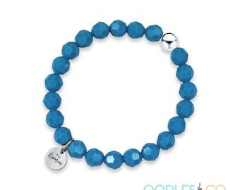 Valentines Day Gift  Valentines   Valentines Jewelry   Custom Bracelets   Beaded Bracelet   Yoga Bracelets   Inspirational Bracelets  