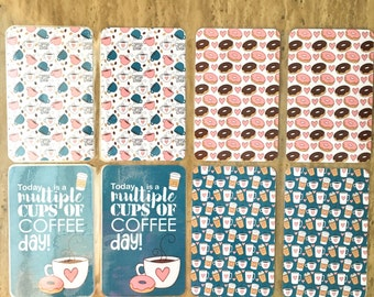 Coffee Lover Traveler's Notebook Dashboards