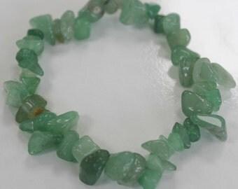 "Jade - ""rolled"" semiprecious stone bracelet"