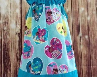 Doc McStuffins  Sundress, Dottie Doctor sundress, Dottie McStuffins dress, Doc McStuffins sundress