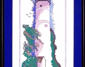 Cross Stitch Chart Pack - Key West Lighthouse, FL