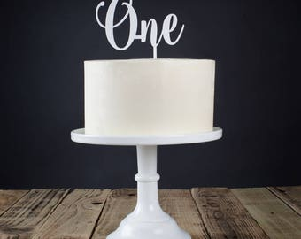 Personalised Acrylic Age Cake Topper