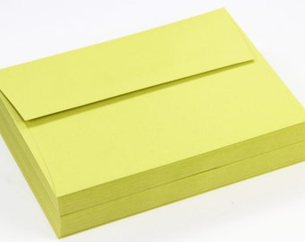 25 - A7 Square Flap Matte Envelopes - 5 1/4 x 7 1/4