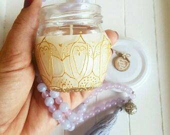 Mandala candle - Harmony