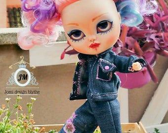 Denim of blythe, pullip, barbie, doll