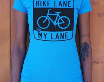 Women and girls Bike Lane T-Shirt