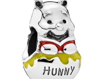 Authentic Pandora Winnie the Pooh Hunny Honey Pot Charm