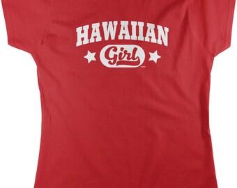 Hawaiian Girl Women's T-shirt, NOFO_01002