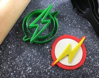 Flash Logo Fondant/Cookie Cutter