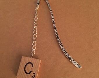 Letter C tile bookmark