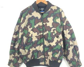 Rare!!! NIGEL CABOURN camouflage design jacket size 3