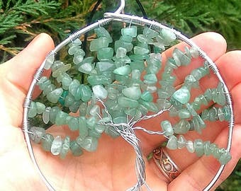 Aventurine Tree Of Life Decoration