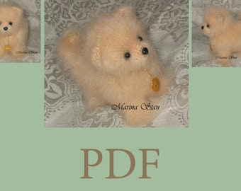 PDF pattern - crochet dog - Amigumumi