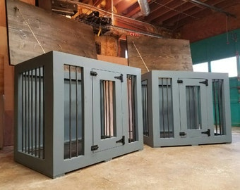 AgainstTheGrain Dog Kennel (Easy Cleaning) Dog Box/Dog House