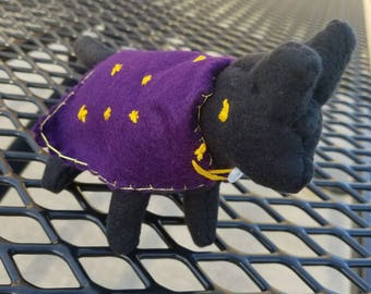Plush Witch Cat