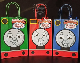 Thomas the Train Favor Bags -- SET OF 3