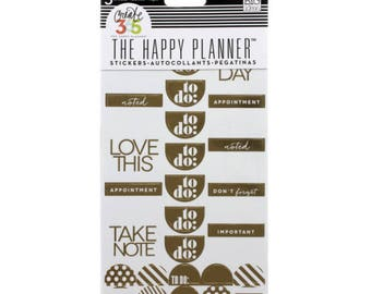 Create 365™ The Happy Planner™ To Do Stickers, Gold Foil