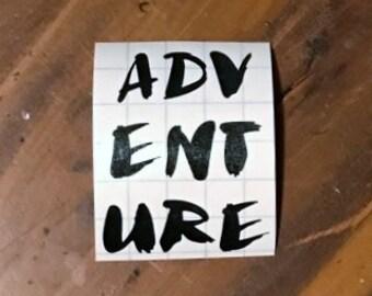 Adventure Decal