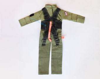 "1/6 Scale Military Style Pilot Uniform Coverall For 12""Action Figure Toy Soldier"