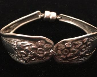 Silver Spoon Bracelet ~ Handmade
