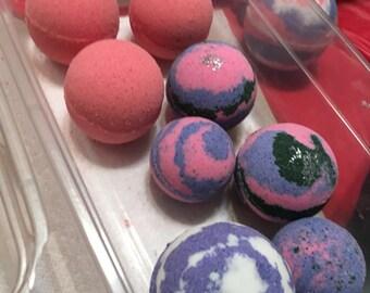 Custom 6 pack of bath bombs