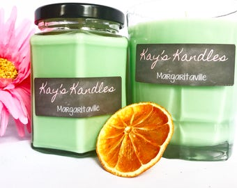SALE!!! 1.00 OFF Margaritaville - Pure Soy Candle Scented