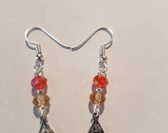 Harry Potter deathly hallows Griffindor Earrings