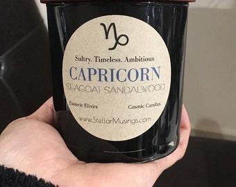 Capricorn Seagoat Sandalwood