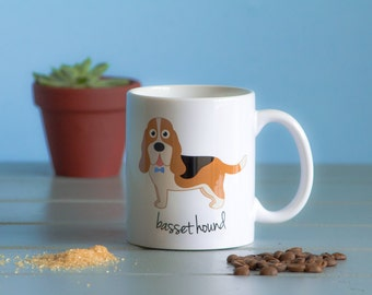 Basset Hound Mug (boy)