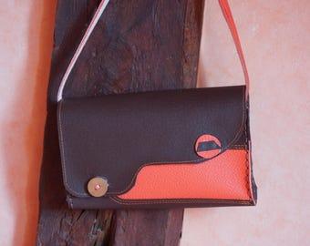 all leather lovely small handbag