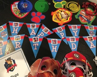 PAW PATROL Party Pack - for 10 children