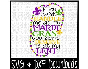 Mardi Gras SVG * Lent SVG * Mardi Gras * Beads Cut File - SVG & dxf Files - Silhouette Cameo, Cricut