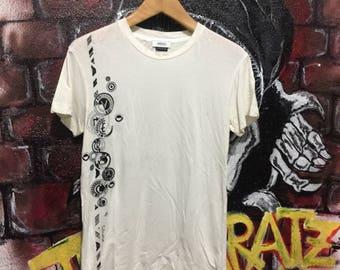 Vintage Versace Tshirt Embroidered Logo