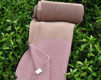 Cotton Throw Blanket - Zac Collection by Pink Lemonade - English Laundry - 100% Cotton