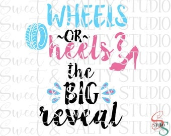 wheels or heels the big reveal digital file