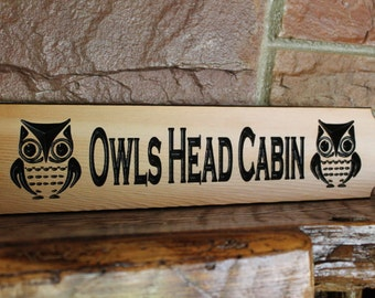 Personalized Cabin Name Sign, Family Camp Personalized Sign, Cottage Family Name Sign,