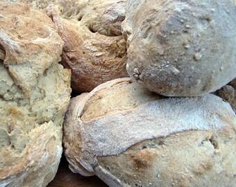 100% Whole Grain Bread, Rustic Loaf, Artisan, Fresh-Ground Grains