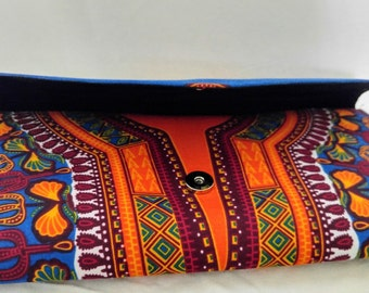 Bags and purses, Dashiki purse, Dashiki Clutch, African Clutch, Dashiki, Ankara clutch, clutch bag, African bag, african fabric, wine clutch