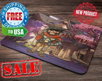 Mccree Overwatch Mouse Pad overwatch mousepad home decor overwatch accessories overwatch champion