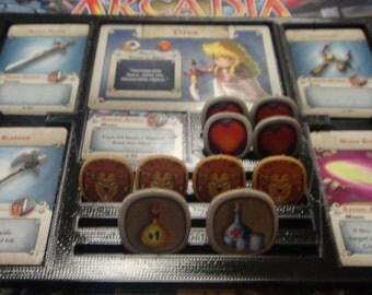 Arcadia Quest Game gear: Character Dashboard Set of 3