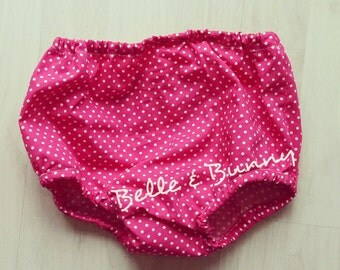 Baby Bloomers - Pink Dotty