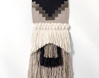 Sand storm - Medium woven wall hanging | Wall tapestry | Wall weaving | Woven wall art