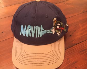 1996 Vintage Marvin the Martian snapback