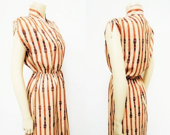 Free Shipping* Vintage Dress, 1980s, French Vintage, Ladies Clothing, Vintage Clothing, Dess, Boho, Retro Dress, Ladies Dresses