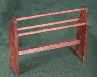 Miniature  Wooden Quilt Rack